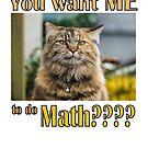 You want ME to do MATH??? by SlightlySkewy