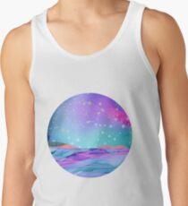 Aquarius Constellation Landscape Men's Tank Top