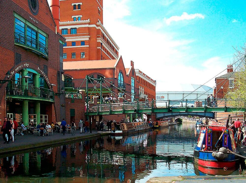 Brindley Place Birmingham by nixa