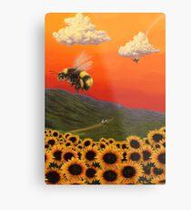 Flower Boy Poster Metal Print