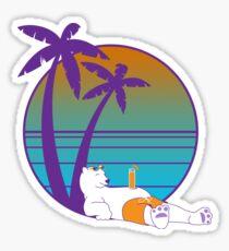 Chillbear Sticker