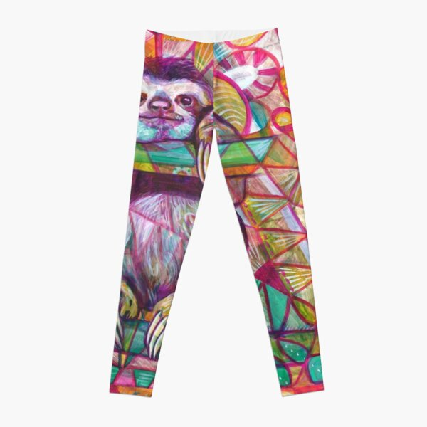 Sloth Love Leggings
