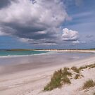 North Uist: Sunshine over Tràigh Iar (West Beach)  by Kasia-D