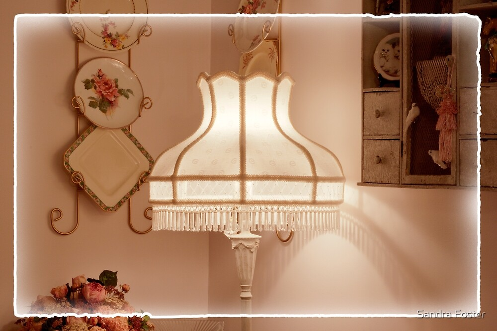 Lamp Shade By Sandra by Sandra Foster