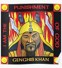 Genghis Khan: Posters   Redbubble