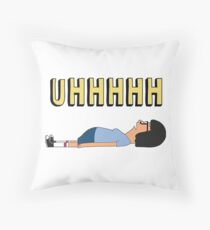 Tina UHHH... Throw Pillow