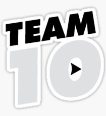 Official Phone Case :: Team 10 ©. :: Limited Edition Sticker