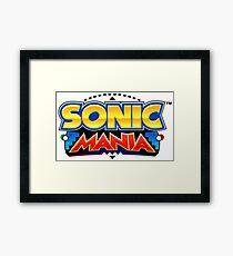 Sonic mania t-shirt and more Framed Print