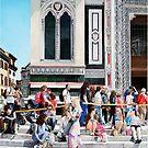 Entering the Duomo by Matthew  Bates