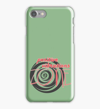 Positive Vibrations ZONE iPhone Case/Skin