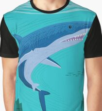The Shark and The Seahorse Graphic T-Shirt