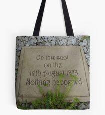nothing happened Tote Bag
