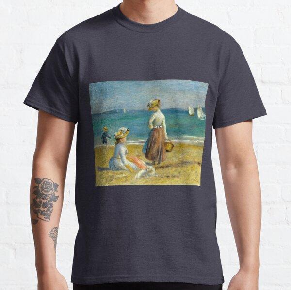 Auguste Renoir Figures on the Beach Classic T-Shirt