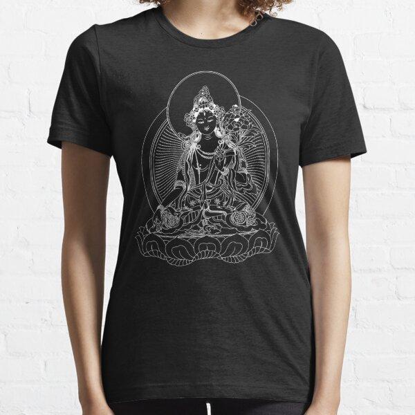 White Tara Classic Buddhist Image Essential T-Shirt
