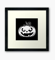 Pumpkiboo Framed Print