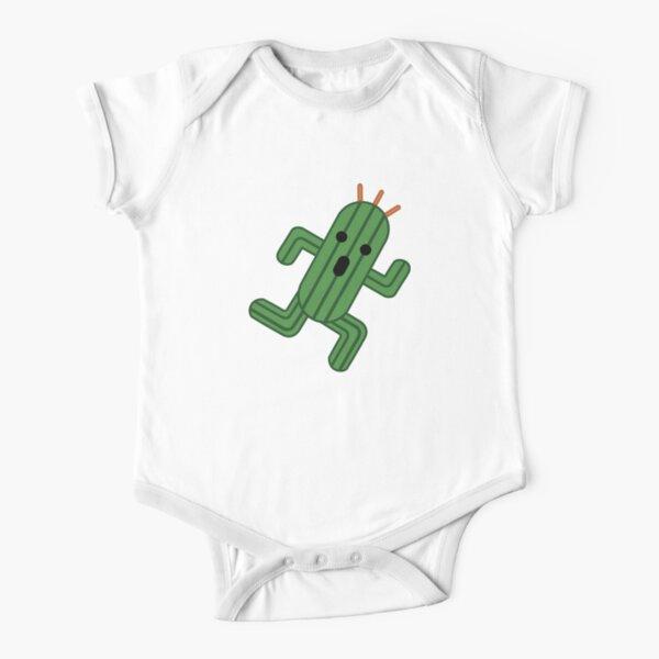Cactuar  Short Sleeve Baby One-Piece