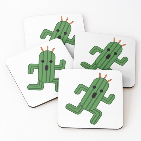 Cactuar  Coasters (Set of 4)