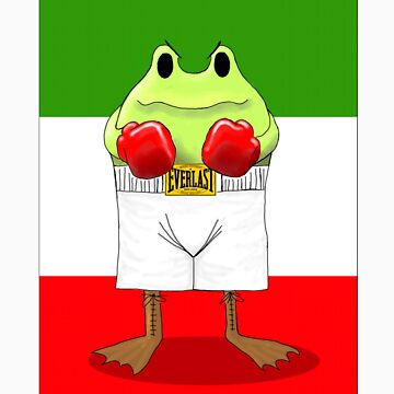 Froggy Balboa by jokerrabit