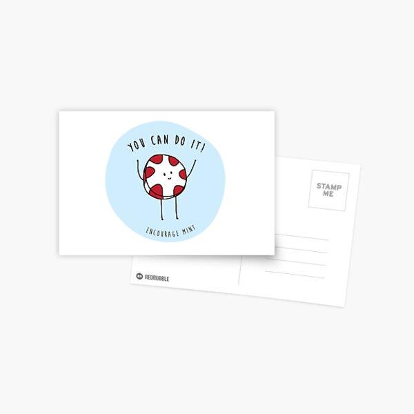 encourage mint Postcard