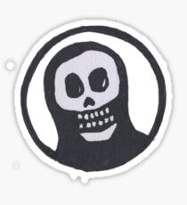 Sacred Skull with Halo Sticker