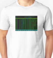 htop Linux Process Information T-Shirt