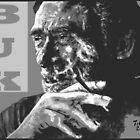 Charles Bukowski - PopART black by ARTito