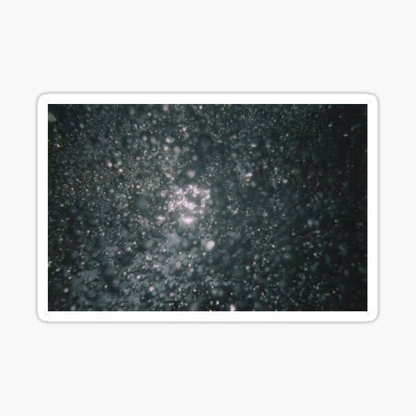 Black Bubbles Tiny Sticker