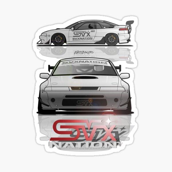 SVX NATION TRACK CAR RENDER Sticker
