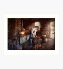 Blacksmith - The Smith Art Print