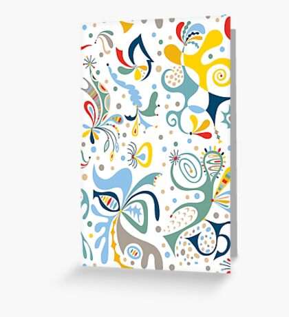 real deal white Greeting Card