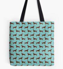 Muster-Hunderassehaustier-Porträtgeschenke für Hundeliebhaber Tote Bag