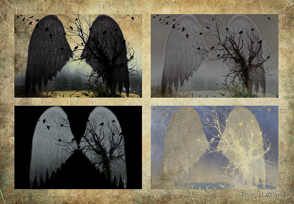 Crow tree 4 by Robyn Lakeman