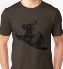 Simple Koala Art T-Shirt