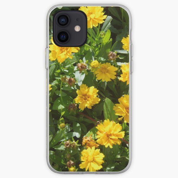 Double Coreopsis iPhone Soft Case