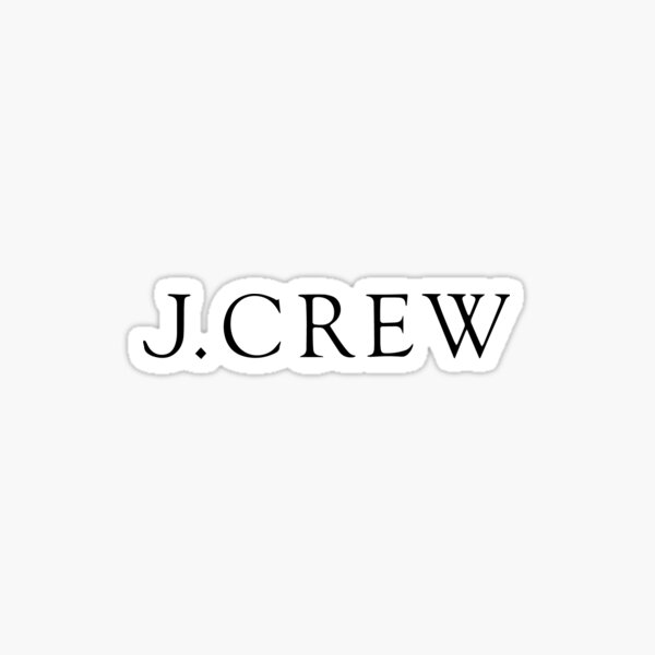 J CREW Sticker