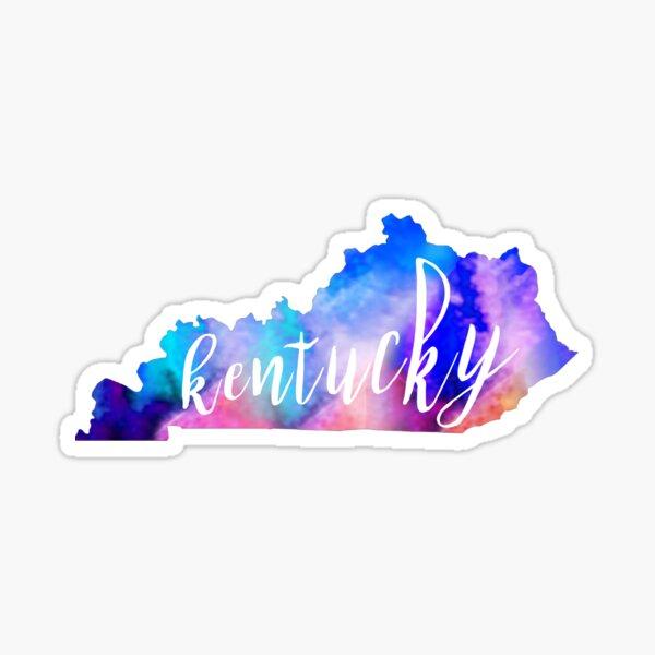 Kentucky - Watercolor  Sticker