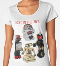 LOST IN THE 80'S Women's Premium T-Shirt