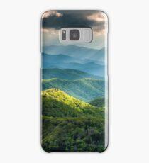 Western North Carolina Southern Appalachian Mountains Scenic Samsung Galaxy Case/Skin