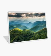 Western North Carolina Southern Appalachian Mountains Scenic Laptop Skin
