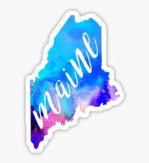 Maine - Watercolor  Sticker