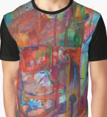 Abstract Reality Graphic T-Shirt