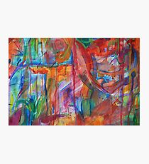 Abstract Reality Photographic Print