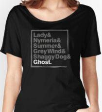 Stark Direwolves / Die Schattenwölfe des Haus Stark Women's Relaxed Fit T-Shirt