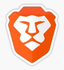 Brave Browser Sticker Sticker