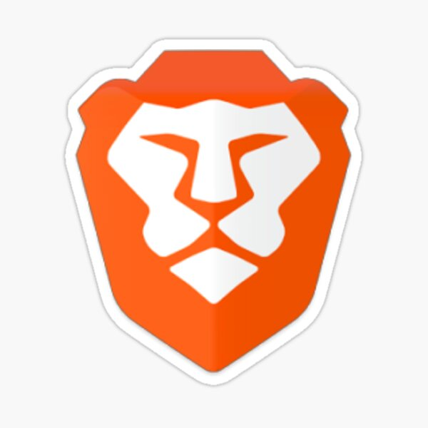 Brave Browser Sticker Sticker