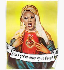 Holy Mama RuPaul Poster