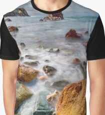 Rhoscolyn Coastline Sunset Graphic T-Shirt