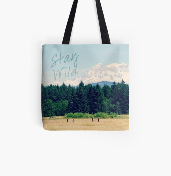 Stay Wild All Over Print Tote Bag