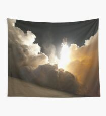 Rocket Launch Into Space Wall Tapestry