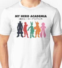 My Hero Academia - Main Characters  T-Shirt
